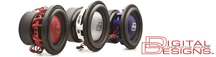 Digital Designs subwoofers