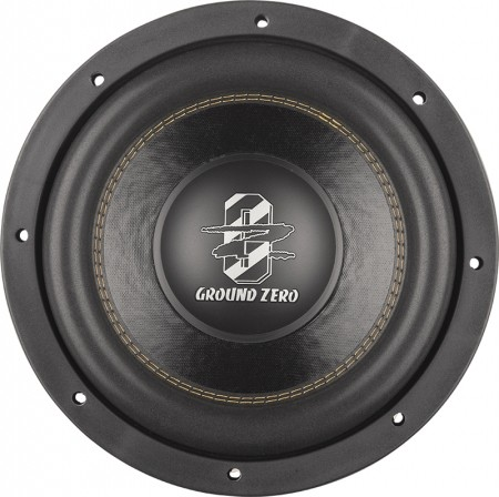 subwoofer ground zero gzrw 10d2 25 cm ground zero. Black Bedroom Furniture Sets. Home Design Ideas