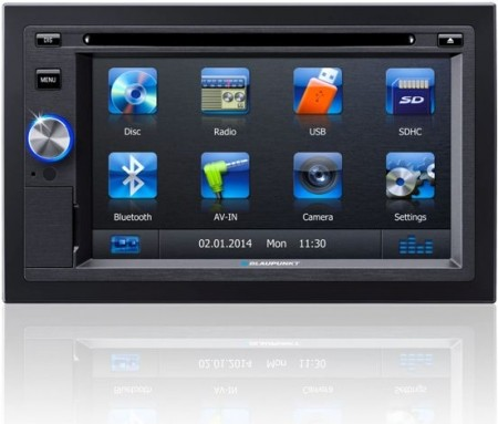 car stereo blaupunkt san diego 530 dvd bluetooth. Black Bedroom Furniture Sets. Home Design Ideas