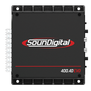 Car amplifier SD400.4D EVO  II