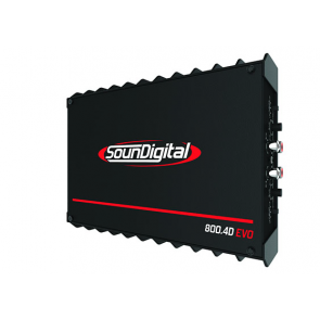 Car amplifier SD800.4D EVO II