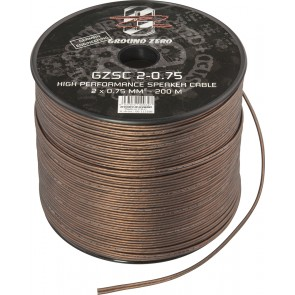 Speaker cable Ground Zero GZSC 2-0.75 (2 x 0.75 mm2 / meter)