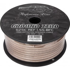 Speaker cable Ground Zero GZSC REF 1.5S-OFC (2 x 1.50 mm2 / meter)