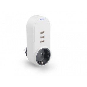 AC Outlet Caliber HPS1101U with USB ports