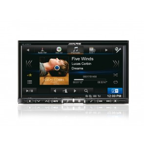 Car navigation system Alpine INE-W987D