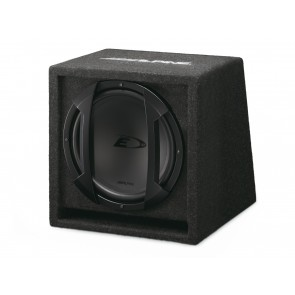 Subwoofer with enclosure Alpine SBE 1044BR (25 cm)