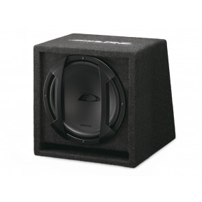 Subwoofer with enclosure Alpine SBE 1244BR (30 cm)