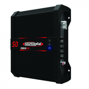 Car amplifier SD2000.1D EVO II (1Ohm)