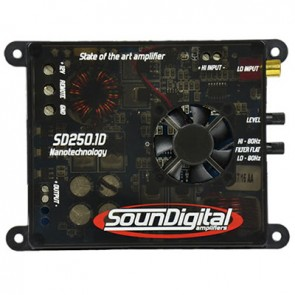 Car amplifier SounDigital SD250.1D Nano (2Ohm)