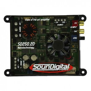 Car amplifier SounDigital SD250.2D Nano